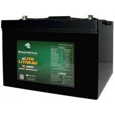 Enerdrive ePOWER 12V 100Ah eLITE Lithium Battery - NEW Great Value Lithium (EPL-100L-12V-eLITE)