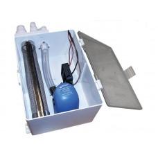 SHOWER DRAIN BOX SUMP AIR CONDITIONING 98B GREY WATER 800 GPH 12V MARINE BOAT