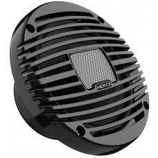 "HERTZ HEX 6.5 M-C Marine Coaxial Speakers 6.5"" (172mm) - BLACK Grill - 100W Peak Power - 50W Continuous - IP65 (1331105)"