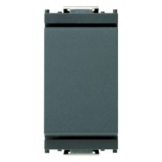 Vimar Idea - Two Way Switch - 1 Pole 10 Amp 250 Volt - ON/ON - Grey - 1 Module - Suits Rondo and Classica Cover Plates (16004)