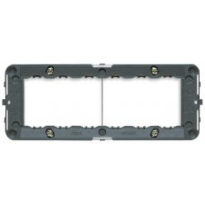 Vimar Idea - Mounting Frame - 6 Module - Grey - Suits Rondo and Classica Cover Plates (16716)
