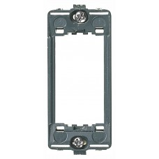 Vimar Idea - Mounting Frame - 1 Module - Grey - Suits Rondo and Classica Cover Plates (16771)