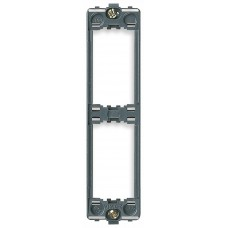 Vimar Idea - Mounting Frame - 2 Module - Grey - Vertical - Suits Rondo and Classica Cover Plates (16772)