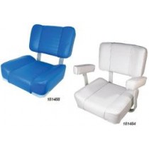 Deluxe Helm and Flip Back Seats