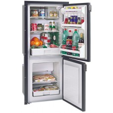 * 1 ONLY left * Isotherm CR195 Cruise Grey Line Upright Fridge/Freezer - 130L Fridge with 65L Freezer - Dual BD35F Danfoss Compressors - Grey Door (381686)