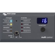 Victron Digital Multi Control 200/200A GX - Remote Control Panel to suit  MultiPlus Inverter Charger Combi (DMC000200010R)