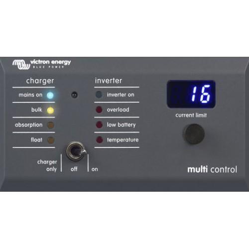 Victron digital multi control 200 200a gx remote control panel to suit multiplus inverter - Internet multi server control panel ...