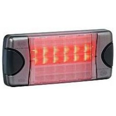 Hella DuraLED Combination Light - Stop, Rear Position, Rear Indicator and Reversing Light - 12-24VDC (HM2380)