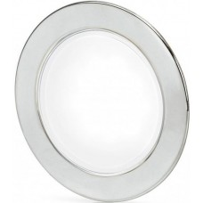 Hella EuroLED 95 Gen 2 LED Downlight - White Light with Round 316 Stainless Rim and Spring Clips (2JA 958 340-011)