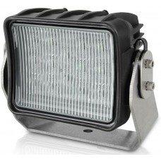 Hella AS3 LED Floodlight -  Wide Beam - Black Housing - Heavy Duty - 12VDC - 2700 Lumen (2LT958060411)