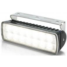 Hella Marine LED Sea Hawk R Flood Light - Black Housing - 9-33VDC - 550 Lumens (2LT980573011)