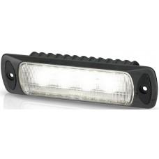 Hella Marine LED Sea Hawk R Flood Light - Recessed Mount - Black Housing - 9-33VDC - 550 Lumens (2LT 980 577-001)