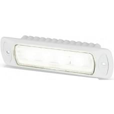 Hella Marine LED Sea Hawk R Flood Light - Recessed Mount - White Housing - 9-33VDC - 550 Lumens (2LT 980 577-011)