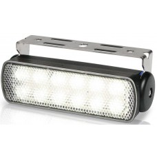 Hella Marine LED Sea Hawk Deck Flood Light - White Light - Black Housing - 9-33VDC - 200 Lumens (2LT980670301)