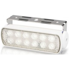 Hella Marine LED Sea Hawk Deck Flood Light - White Light - White Housing - 9-33VDC - 200 Lumens (2LT980670311)