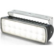 Hella Marine LED Sea Hawk XLR Flood Light - Black Housing - 9-33VDC - 1300 Lumens (2LT980740001)
