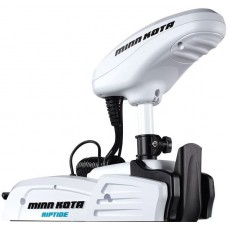 "Minn Kota Bow Mount Electric Motor - Riptide Saltwater Powerdrive RT55SP/FP - Incl. Foot Pedal - 12V - 55lb Thrust - 54"" Shaft (601600)"