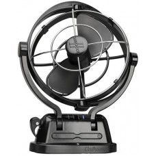** FIVE ONLY AT SPECIAL PRICE ** Caframo Sirocco II Fan 7010 - 12-24 Volt - BLACK - 3 Speed - 360º Rotation - Ideal for Marine-Boat-Caravans-RV - Quiet Operation (TRA 7010CA Black)