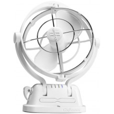 ** FIVE ONLY AT SPECIAL PRICE ** Caframo Sirocco II Fan 7010 - 12-24 Volt - White - 3 Speed - 360º Rotation - Ideal for Marine-Boat-Caravans-RV - Quiet Operation (TRA 7010CA White)