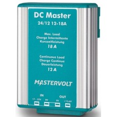 Mastervolt DC to DC Converter - DC Master 24/12-12A - Non Isolated Battery Converter - 20-32VDC Input - 13.6VDC Output @ 12A (SUR 81400300)