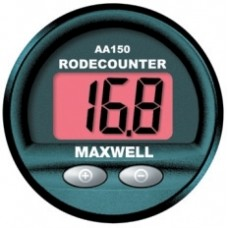 Maxwell AA150 Digital Chain Counter - Dash Mounted LED Rode-Chain Counter - Suits Any DC Anchor Windlass (P102939)