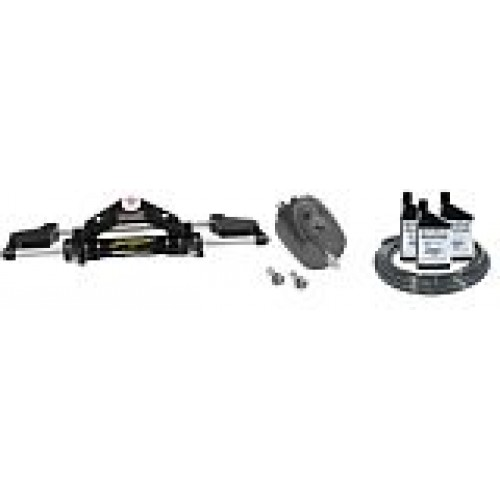 SeaStar Compact Outboard Hydraulic Steering Kit - Front