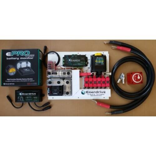 Lithium Battery Pack 300Ah 12V SLIM (LiFePO4) - Incl Battery