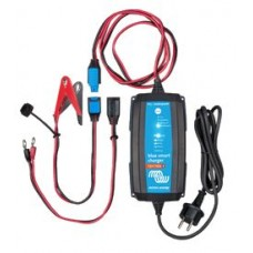 Victron Blue Smart IP65 Battery Charger with Clamps and Connectors - 12 Volt - 7 Amp - Bluetooth Smart (BPC120731014R)