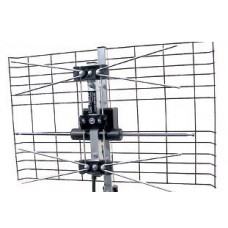 Explorer Premium NOMAD C4 Digital Caravan TV Antenna System - Vertical or Horizontal Polarity - Suits Caravans and RV's (C4A Active)