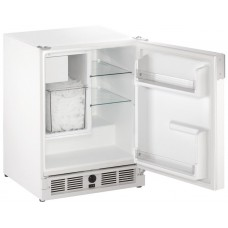 U-Line Marine Ice Maker Combo - C029- WHITE - Ice Maker and Fridge - Makes 11.3Kg Ice per Day - Holds 5.9Kg Ice - (493/C029W-20A)