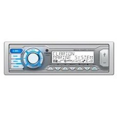 Clarion M505 Marine Stereo - Digital Media Receiver with Built-In Bluetooth - Dual Zone - USB and Aux Input - M505 (117204)