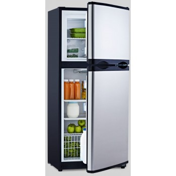 Arcticold Dc190l Ss Fridge Freezer 2 Door 12 Or 24