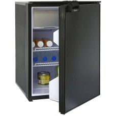 Bushman - Arcticold DC85X Fridge/Freezer - 12 or 24 Volt - 79L Fridge with 6L Freezer -  Reversible Black Door (DC85X)