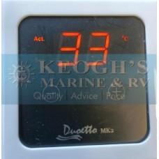 * NEW Duoetto Remote Control Panel - Surface Mount Remote Temperature Control for 12 Volt DC Element