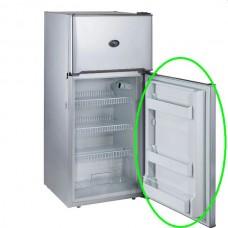 Evakool ** ONE ONLY **Replacement Refrigerator Door - Suits Evakool Platinum DC175 - 175 Litre - Changeable Left or Right Hand Satin Platinum Grey Door