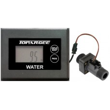 -FREE FREIGHT-  Topargee H2F-SM Digital Water Tank Gauge - Surface Mount - Battery Operated - In Line Flow Meter (H2F-SM)