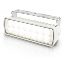 Hella Marine LED Sea Hawk XLR Flood Light - White Housing - 9-33VDC - 1300 Lumens (2LT980740011)