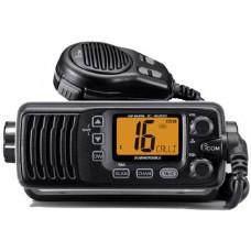ICOM IC-M200 Marine VHF Radio - BLACK - IPX7 Submersible Body with Large LCD Screen (IC-M200)