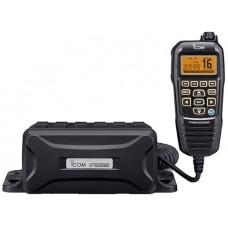 ICOM IC-M400BBE Marine VHF Radio - Under Deck Black Box with COMMANDMIC HM-195B/SW- DSC, Noise Cancelling Technology - NMEA0183 - Built-In GPS (IC-M400BBE)