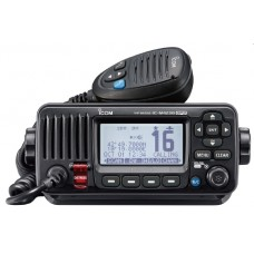 ICOM IC-M423G-B Marine VHF Radio - BLACK - DSC, Noise Cancelling Technology - NMEA0183 - Built-In GPS (IC-M423G-B)