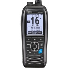 ICOM IC-M93D_EURO Marine Hand Held VHF Radio with DSC - Float'n Flash - Built-In GPS - MOB - 9 Hrs Battery Life - Rechargeable Li-Ion Battery (IC-M93D_EURO)