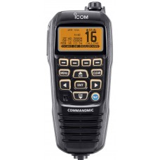 ICOM HM195GB CommandMIC  BLACK - Complete Remote Control Option - Suits Selected ICOM VHF Radios Only (HM195GB)