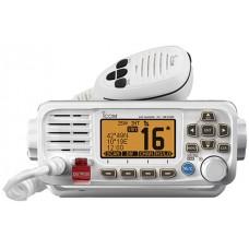 ICOM IC-M330GE-W Marine VHF Radio - WHITE - DSC, Waterproof Transceiver - NMEA0183 - Built-In GPS (IC-M330GE-W)