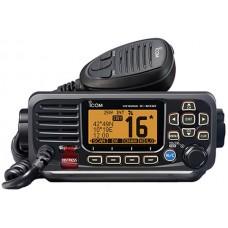 ICOM IC-M330GE-B Marine VHF Radio - BLACK - DSC, Waterproof Transceiver - NMEA0183 - Built-In GPS (IC-M330GE-B)