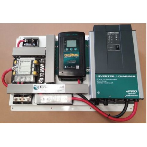 Enerdrive AGMLithium Battery Management System 1600 Combi incl 40A DC2DC Charger  MPPT Solar