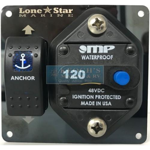 Lone Star Marine Gx3 Stainless Steel 300mm Drum Anchor