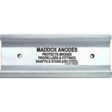 MPS Maddox Anode 1.6 - Sacraficial Anode - Protection for Timber and Fibreglass Vessels - Stops Wood Rot in Timber Vessels - *Suits 20-45ft Single Shaft (MPS MAD1.6)