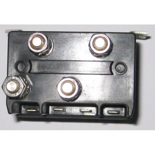 muir reversing solenoid - dual 12 volt 2 pole or 4 pole 600 watt cima  positive acting