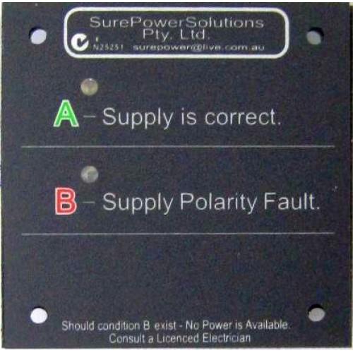 Sure Power 240 Volt Shore Power Reverse Polarity Indicator Remote