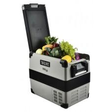 Evakool Travelmate Fridge or Freezer 50L - 12-24VDC and 240VAC - Danfoss Compressor -Tough Lightweight Polypropylene Cabinet - Incl Protective Cover (TMX50) - *** FREE Freight Australia Wide